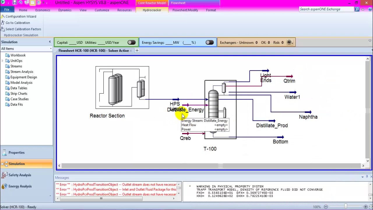 Hysys v8 manual array hydrocracking simulation hysys v8 8 youtube rh youtube com fandeluxe Image collections