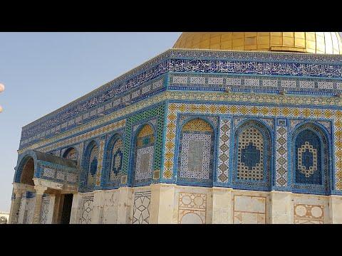 Di Dome Of The Rock  - Ustadz DR Syafiq Riza Basalamah MA
