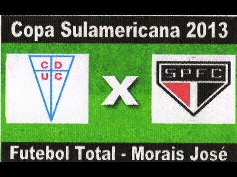 Universidade Católica 3 x 4 São Paulo - Copa Sulamericana 23/10/2013 - Jogo Completo