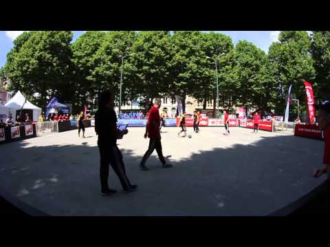 European street soccer 4vs4 Championship 2014: Belgium  Poland