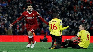 Liverpool 5-0 Watford: Mohamed Salah nets FOUR in rout as his first Premier League hat-trick