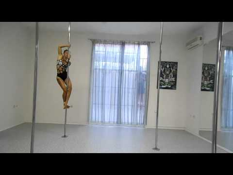 Art of Pole Dance Slovenia 2015 application video Ana Cudic