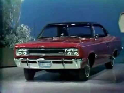 1967 AMC Ambassador & Marlin with Rambler Rebel & American Commercial w/ Jack Benny