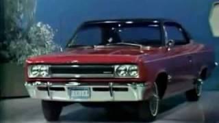 1967 AMC Ambassador, Rebel, Marlin & Rambler American Commercial w/ Jack Benny