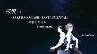 Gambar cover 桜流しSAKURA NAGASHI (Instrumental) -  UTADA HIKARU