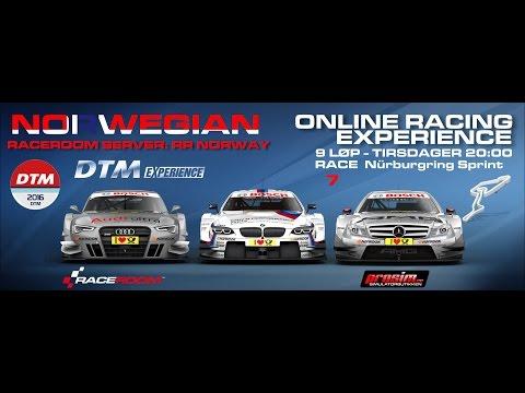 Raceroom Norway | Online Racing | DTM 2016 | Race 7 Nürburgring