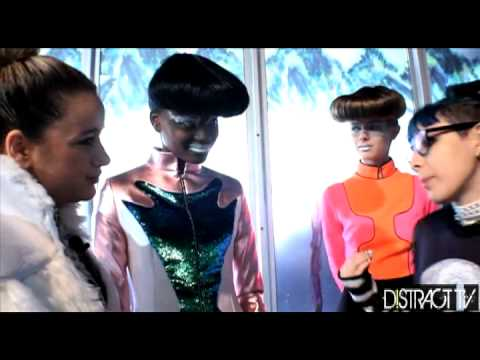 Kay Perry Designer DB BERDAN Interview LFW DistractTV