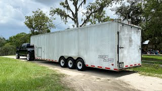 homepage tile video photo for Refurbishing And Upgrading My Gooseneck Enclosed Car Trailer.