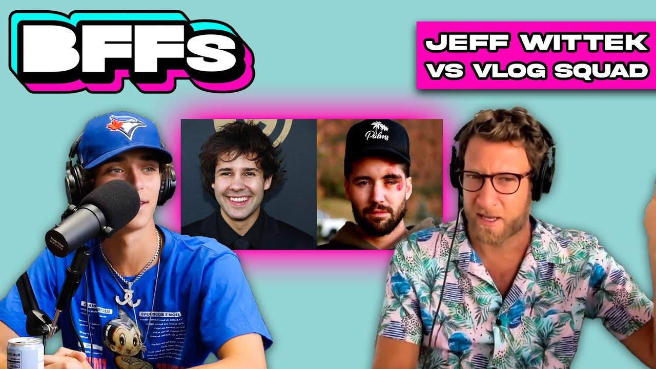 Does Jeff Wittek Hate David Dobrik & The Vlog Squad Now?