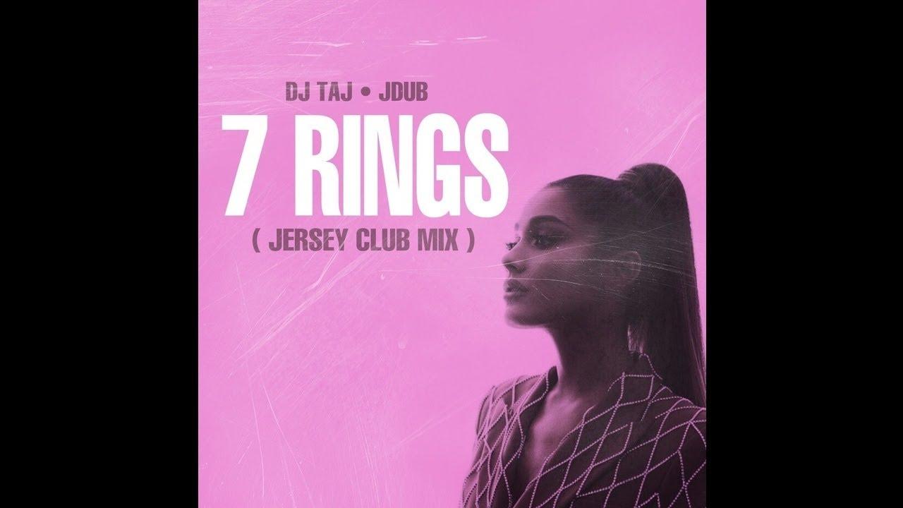DJ Taj - 7 Rings (Jersey Club Mix) ft. Jdub
