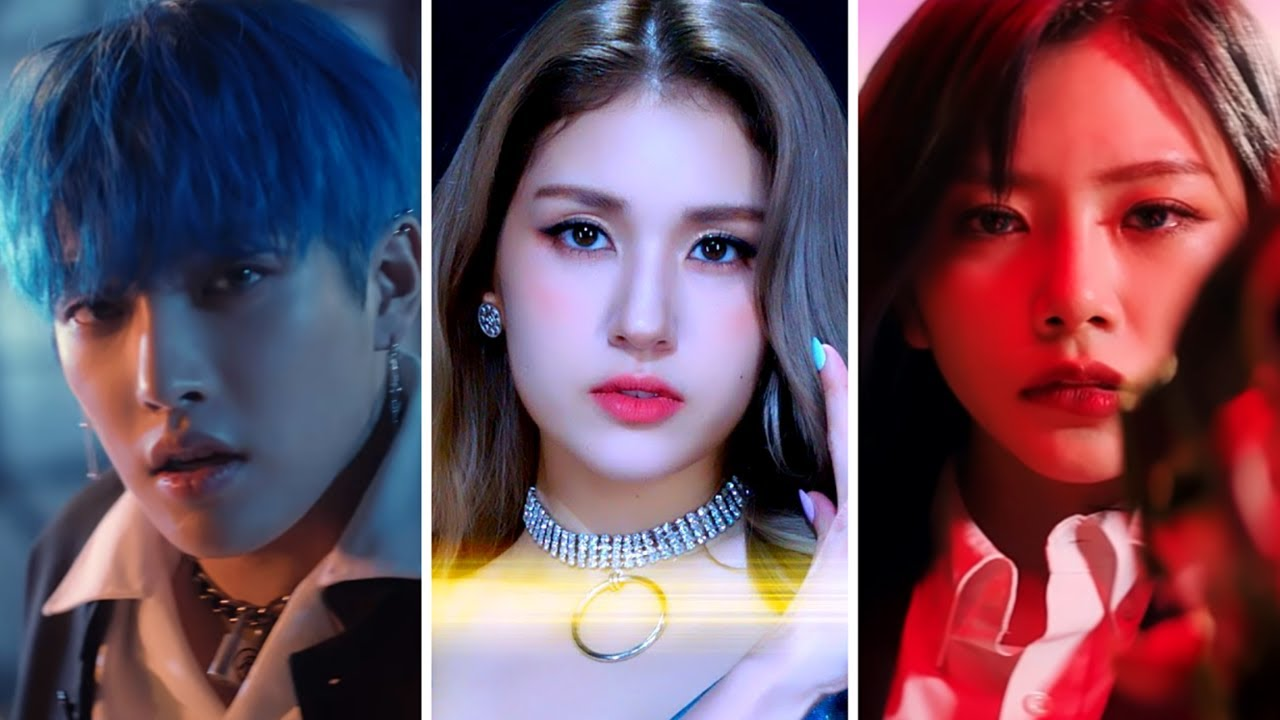 (THEORIES) ATEEZ - INCEPTION, SOMI - What You Waiting For, Dreamcatcher - R.o.S.E BLUE