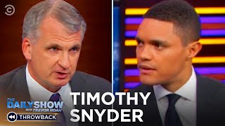 "Timothy Snyder - ""On Tyranny"", Trump & How Abandoning Facts Destroys Democracy 