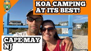 KOA CAMPING AT IṪS BEST– CAPE MAY, NJ