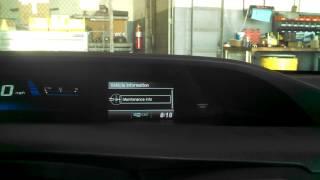 How to reset the tire light | 2014 Honda Civic