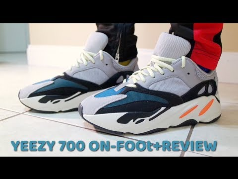 d9a48387c YEEZY 700(WAVE RUNNER) ON-FOOT+REVIEW!!!KANYE S BEST ADIDAS YEEZY ...