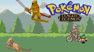 MASSIVE LEAGUE OF LEGENDS POKEMON FAN GAME (Pokemon League of Legends download in description)