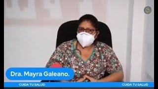 Dra. Mayra Galeano.
