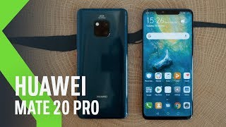 Huawei Mate 20 Pro, primeras impresiones: TRIPLE CÁMARA y más INTELIGENCIA ARTIFICIAL