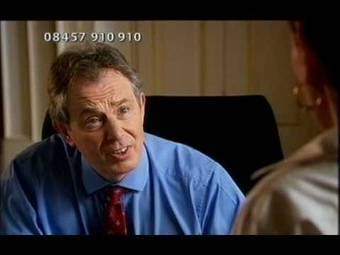 Red Noseday with Catherine Tate and Tony Blair