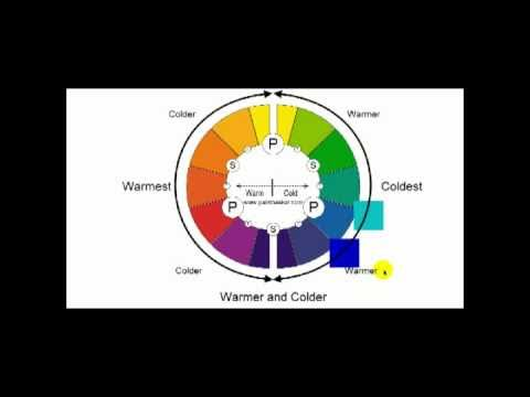 Painting Lessons - Is my color warm or cold - YouTube