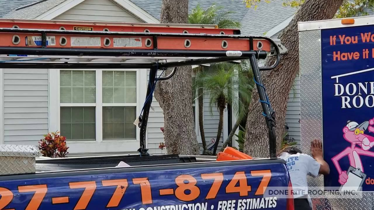 Roof Replacement In Clearwater Fl By Done Rite Roofing Inc