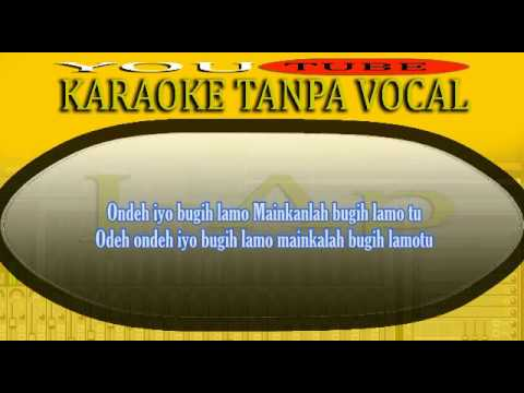 Karaoke Minang Bugih Lamo (Minang Joget Full Lirik)_by J-Ap