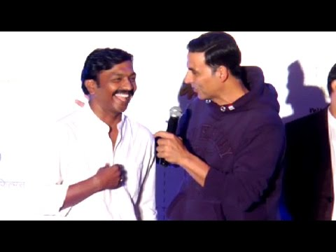 Akshay Kumar's Funny Marathi Comedy On Stage