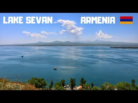 Visiting LAKE SEVAN Armenia  Սևանա լիճ