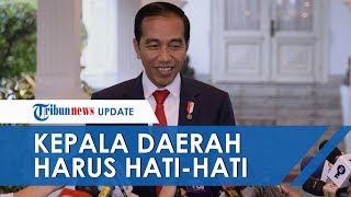 Terkait Kerusuhan Sejumlah Titik di Papua, Jokowi Minta Kepala Daerah Hati hati Sampaikan Pernyataan