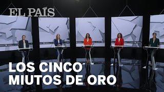 LOS CINCO MINUTOS DE ORO del debate a cinco en La Sexta
