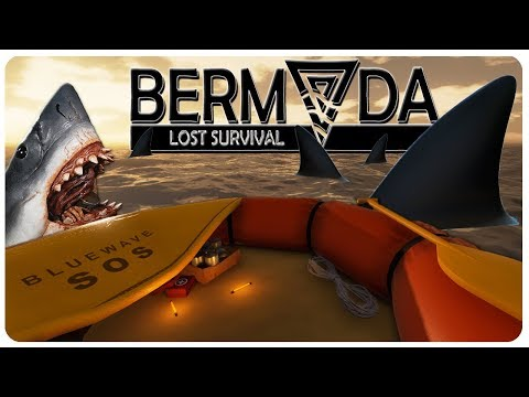 BASE EXPANSION n' Tiger Shark / Jellyfish News! | Bermuda Lost Survival Gameplay