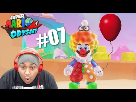 FORGET PENNYWISE MAH BOYS! MARIOWISE! [SUPER MARIO ODYSSEY] [#07]