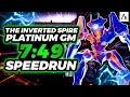 - The Inverted Spire Grandmaster Nightfall Platinum Speedrun 7:49 // Destiny 2