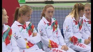 Александра Саснович и Анна Каролина Шмидлова откроют плей-офф Мировой группы Кубка Федерации