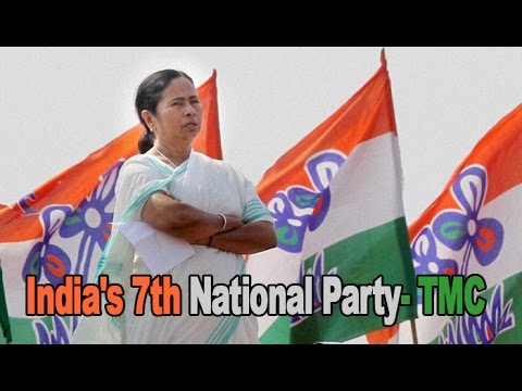 Trinamool Congress becomes India's 7th national party : NewspointTv