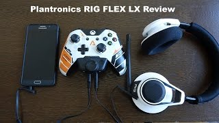 Plantronics RIG Flex LX Review:  Xbox One Solid