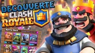 Je découvre Clash Royale ! (Le Nouveau jeu de Supercell !)   Let's Play #0