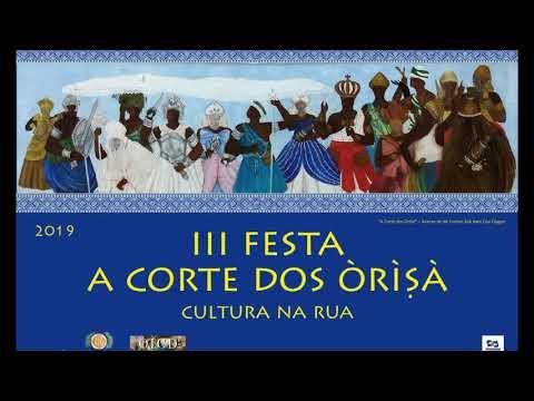 """III Festa """"A Corte dos Òrìṣà"""": Cultura na Rua - Convite de Beto Angerosa"""