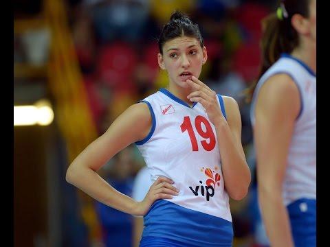 Tijana Boškovic Serbia VS Russia Volleyball Women's Quarter Final 2016 | Hightlights