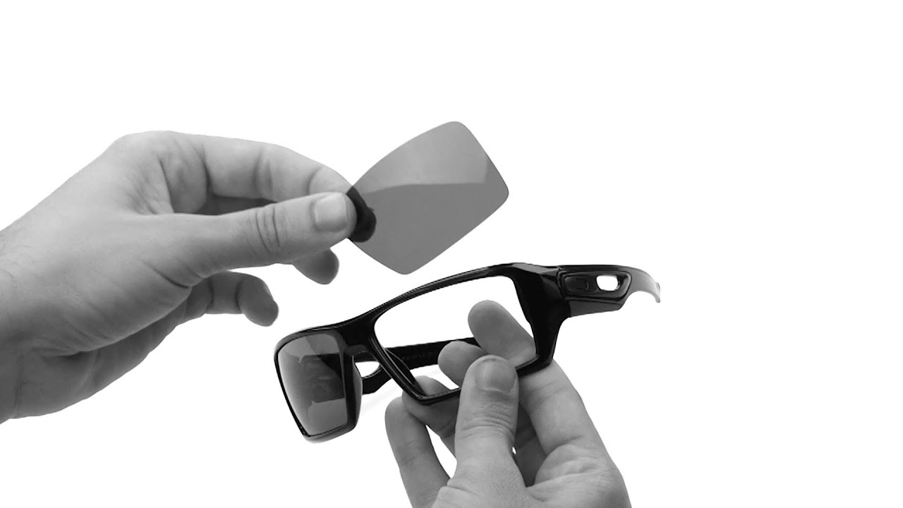 f02d48f21bf Oakley Eyepatch 2 Lens Replacement   Installation Instructions - YouTube