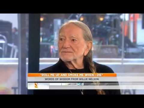 Willie Nelson - I Haven't Seen Any Side Effects Of Pot (Marijuana) 11-20-2012 -Marijuana Cash Crop
