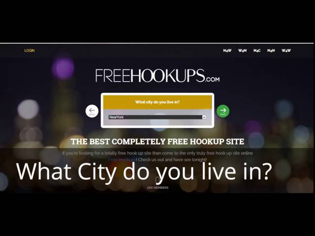 Hookup site with online check payment