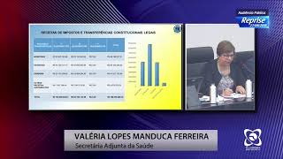 Audiência Pública 27/09/2019 - Prestação de Contas Sec. de Saúde