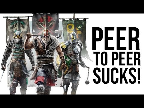 Ubisoft needs to fix For Honor's terrible multiplayer problems