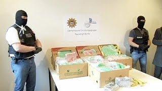 Almanya'da muz kutularından 140 kilo eroin çıktı