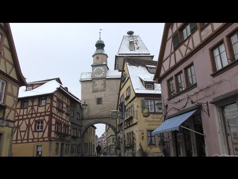 Rothenburg ob der Tauber 2016 - Winter-Edition