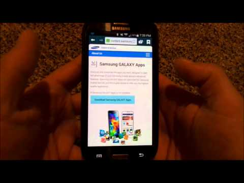 How To Download Galaxy Apps {Previously Samsung Apps}