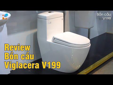 Video Bồn cầu 1 khối Viglacera V199