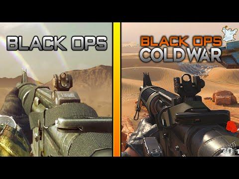 Black Ops 1 Commando VS Black Ops Cold War Commando / Ghosts619