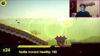 OlliOlli 2 w/Facecam | THIS GAME IS FREAKEN HARD!!